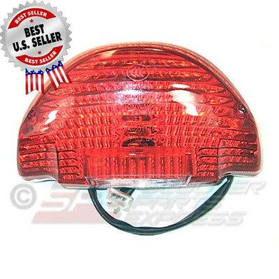 Tail Light Assembly DOT Approved LED Scooter Moped ~ US Seller