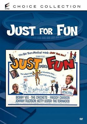 JUST FOR FUN (1963 Bobby Vee) Region 1 DVD - Sealed