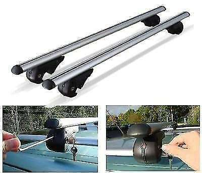 Volkwagen VW Passat Estate 1980-2013 ROOF AERO BARS RACK ALUMINIUM LOCKING RAILS