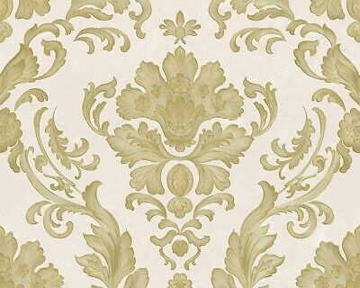 Tapete Barock weiß gold AS Creation Concerto 30190-2 (2,44€/1qm)