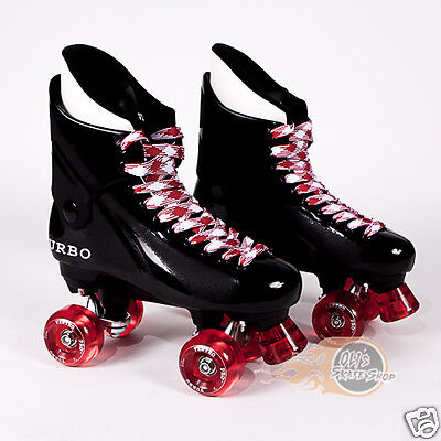 Ventro Pro Turbo Quad Roller Skates- Bauer Style - Red White