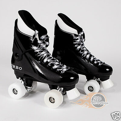 Ventro Pro Turbo Quad Roller Skates, Bauer Style - Sims Street Wheels