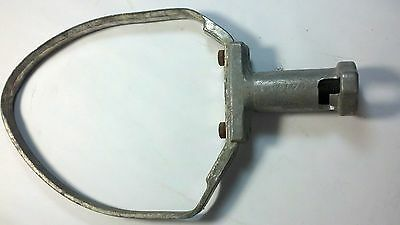 USED ALUMINUM 20 Quart PASTRY KNIFE with  BRACES  Hobart  A20P