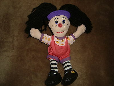"Big Comfy Couch Loonette 9"" 2002 Plush & Beans Small Size Doll"