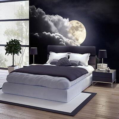 fototapete vlies mond tapete tapeten fototapeten f r schlafzimmer fdb13 eur 39 99 picclick de. Black Bedroom Furniture Sets. Home Design Ideas