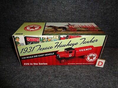 2012 Texaco Oil #29 In Series 1931 Hawkeye Tanker Truck Regular Edition  Mib A