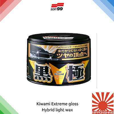 Soft99 Kiwami extreme gloss car wax Dark Fast delivery! NO IMPORT DUTY within EU