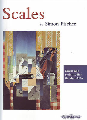 Scales by Simon Fischer - Edition Peters - 71908 - Scales & Scale studies