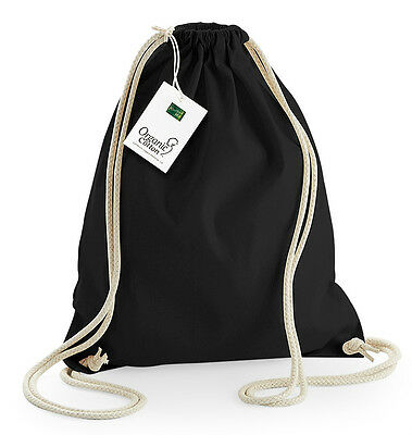 Westford Mill EarthAware™ Organic Gymsac Drawstring Cotton Gym Bag (W810)