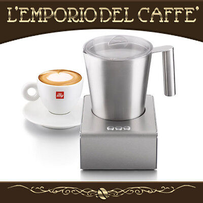 Montalatte Milk Frother Cappuccinatore illy Magnetico Caffè Latte