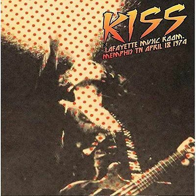KISS - Lafayette Music Room, Memphis, April 18, 1974. New LP + sealed
