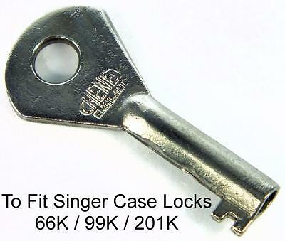 SINGER 66K / 99K / 201K Sewing Machine Original Case Key - My Ref.B31
