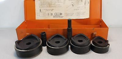"""Ensley Tool Co. E-161 2 1/2-4"""" Knockout Punch Kit w/ Draw Stud"""
