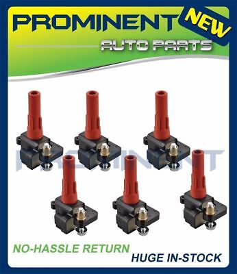 Set of 6 Ignition Coils For Subaru Legacy B9 Tribeca Outback with H6 3.0L C1326