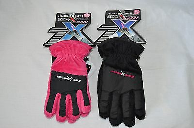 NWT ZERO XPOSURE PERFORMANCE GLOVES-YOUTH~2 SIZES AND COLORS AVAILABLE