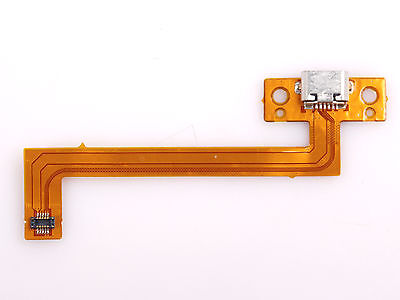OEM Micro USB Charging Port DC Power Jack Ribbon Flex Cable For Kobo Arc K107 7""