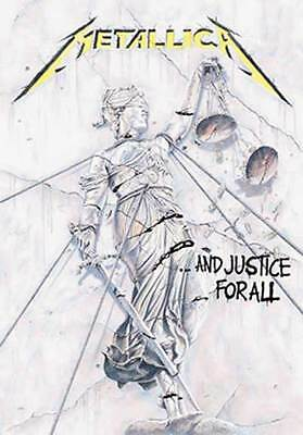 "METALLICA Justice For All Cloth Tapestry Poster Wall Flag Banner 30"" x 40"""