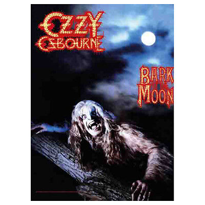 "OZZY OSBOURNE Bark At The Moon Tapestry Cloth Poster Wall Flag Banner 30"" x 40"""