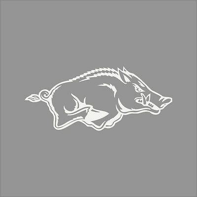 Arkansas Razorbacks #3 NCAA College Vinyl Sticker Decal Car Window Wall