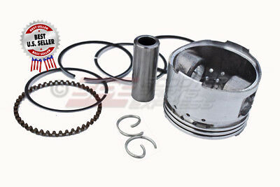 Piston & Ring Set 44mm GY6 60 139QMB Upgrade GY6 50 139QMB ~ US Seller
