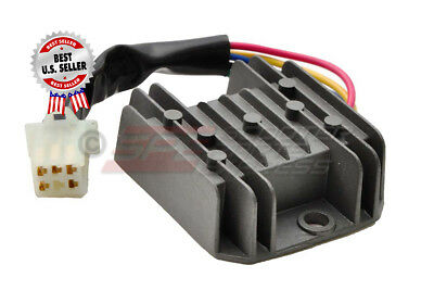 Voltage Regulator Rectifier 5 Wire GY6 150cc 157QMJ Scooter Moped ~ US Seller