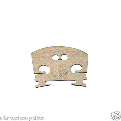 Super CHEAP price Zest Violin Bridge 4/4, 3/4, 1/2, 1/4 sizes 1 to 6 from £1.57