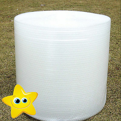 BUBBLE WRAP ROLLS SMALL LARGE QUALITY NEW - CHOOSE WIDTH (300mm, 500mm, 750mm)