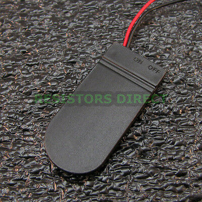 6V 2x 2032/2025 Coin Cell Battery Holder Case On/Off Switch 6 Volt Power U89
