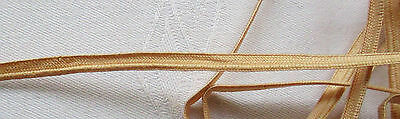 Vintage Flesh Colored Piping Possibly for Old Lingerie Cotton French 4 Yrds 17""