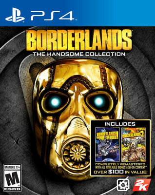 Borderlands The Handsome Collection PS4 Playstation 4 Brand New In Stock
