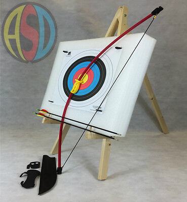 ASD Archery Leisure Bow Set Medium Package W/ Target Boss, Stand, Arrows & More