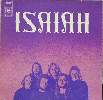 Lp / Isaiah / Austria Monster Original Cbs / Top Rarität / 1975 / Prog. Rock /