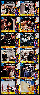 The World Is Not Enough Pierce Brosnan James Bond 1999 Lobby Card Set Of 12