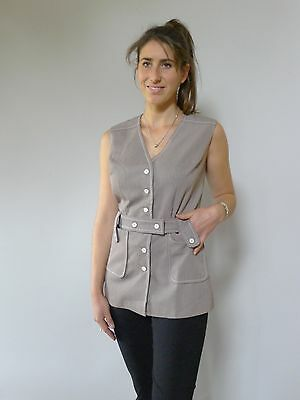 Vintage retro true 60s SSW 8 - 10 S top vest NOS tags as new