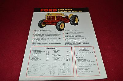 Ford 4040 Industrial Tractor Dealer's Brochure LCPA3