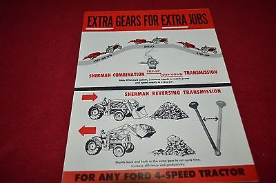 Ford Tractor Sherman Transmission Dealer's Brochure LCPA3
