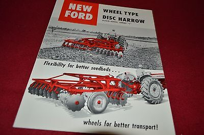Ford Tractor Series L Flex Hitch Disc Harrow Dealer's Brochure LCPA3