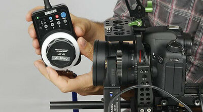 CAME-TV Wireless Remote Motor Electronic Follow Focus +CASE for DSLR Rig Video