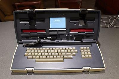 RARE OSBORNE OCC1 vintage portable computer C1982 SERIAL -008011 with SOFTWARE