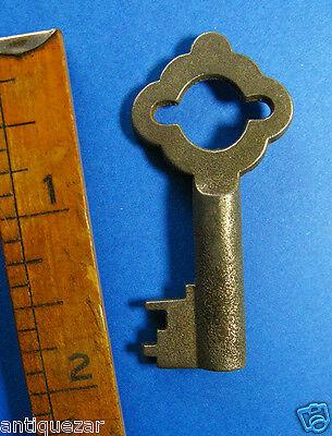 Genuine Antique Gothic Bow Skeleton Key - More Vintage Old Rare Exotic Keys Here