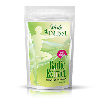 Garlic extract tablet 1000mg  ** BUY ONE GET ONE FREE **