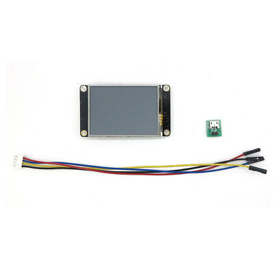 "New 2.4"" Nextion HMI TFT LCD Display Module For Arduino Raspberry Pi 2 A+ B+"
