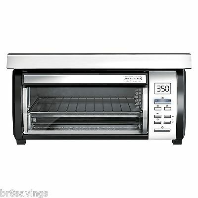 Black & Decker TROS1000 SpaceMaker Digital Toaster Oven, Free Shipping, New