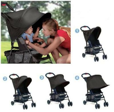 Baby Kids Stroller Pram Auto Car Seats Ray Shade Summer Sun Canopy Covers Hot FW