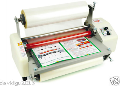 Brand new 8350T Laminator Four Rollers Hot Roll Laminating Machine