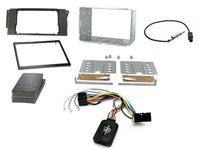Connects2 CTKJP01 Jeep Renegade 2015 on Double Din Stereo Fitting Kit