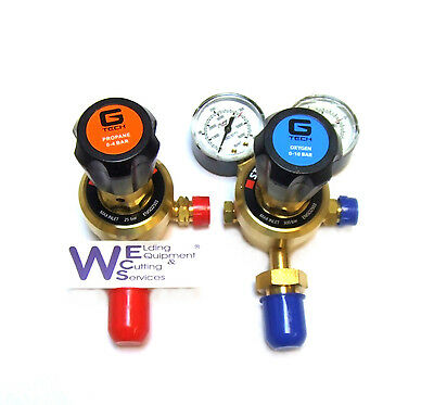 Pair of Oxygen and Propane Single Stage Regulator for Gas cylinder