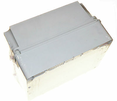 weatherproof enclosure junction box 300 x 220 x 175 mm deep lid  IP56 electric