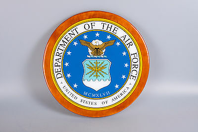 Custom United States Air Force resin coated plaque