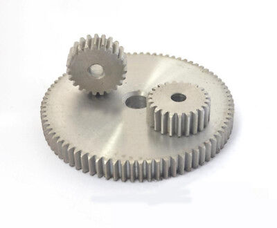 1 Mod 14T Spur Gears 45 Steel Gears  Tooth Diameter 16MM Thickness 10MM